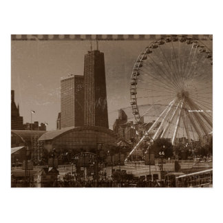 Chicago's Navy Pier Postcard
