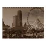 Chicago's Navy Pier Postcards