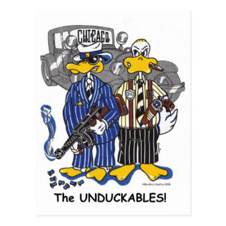 Chicago's Untouchables Postcard