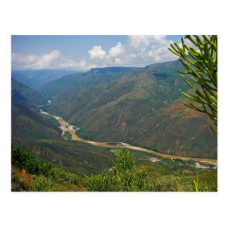Chicamocha Canyon Postcard