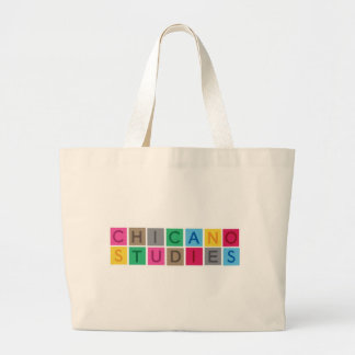 Chicano Studies Large Tote Bag