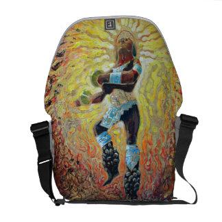 Chicemeca dancer on fire - Dancer Bag Messenger Bags