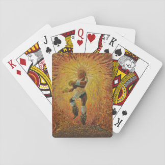 Chicemeca fire dancer - Amazing Mexico cards