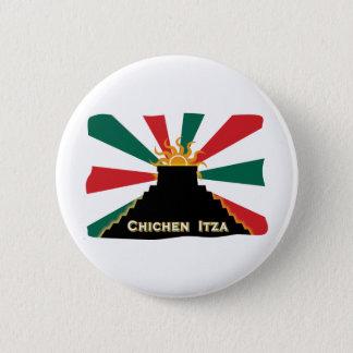 Chichen Itza 2 Inch Round Button