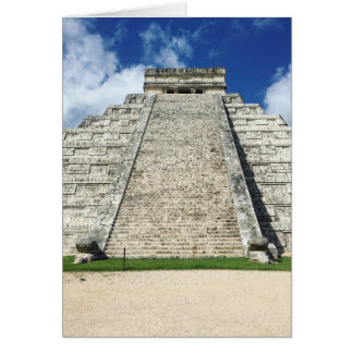 Chichen Itza by Kimberly Turnbull Photography Card