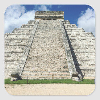 Chichen Itza by Kimberly Turnbull Photography Square Sticker