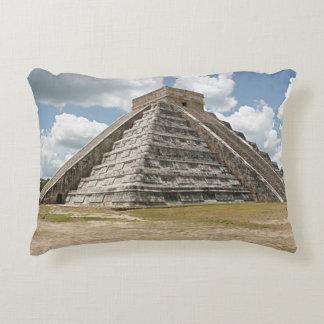 Chichen Itza El Castillo Decorative Pillow