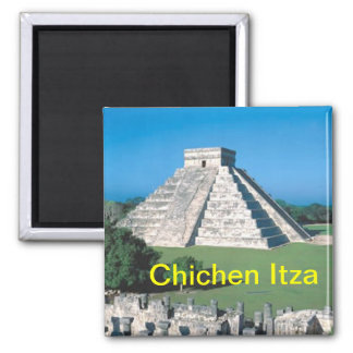 Chichen Itza fridge magnet
