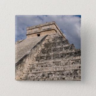 Chichen Itza Mayan Ruin in Mexico 2 Inch Square Button