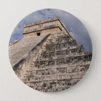 Chichen Itza Mayan Ruin in Mexico 4 Inch Round Button