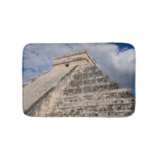 Chichen Itza Mayan Ruin in Mexico Bath Mat