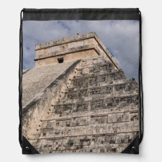 Chichen Itza Mayan Ruin in Mexico Drawstring Bag