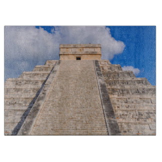 Chichen Itza Mayan Temple in Mexico Cutting Board