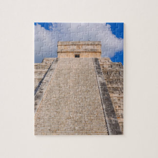 Chichen Itza Mayan Temple in Mexico Jigsaw Puzzle
