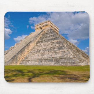Chichen Itza Mayan Temple in Mexico Mouse Pad