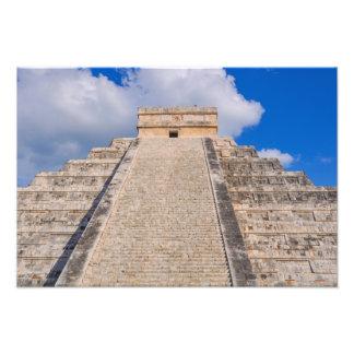 Chichen Itza Mayan Temple in Mexico Photo Print