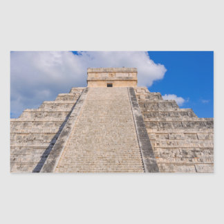 Chichen Itza Mayan Temple in Mexico Sticker