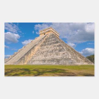 Chichen Itza Mayan Temple in Mexico Sticker