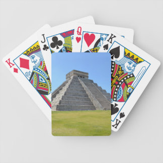 Chichen Itza Mexico Kukulkan Pyramid 7 Wonders Bicycle Playing Cards