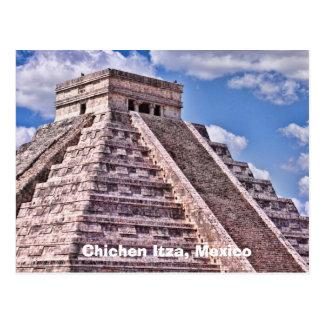 Chichen Itza, Mexico Postcard