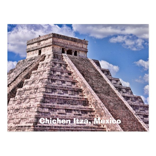 Chichen Itza, Mexico Postcard