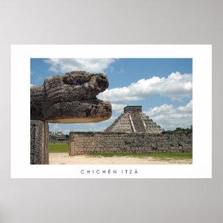 Chichén Itzá Poster