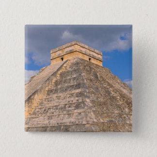 Chichen Itza Ruins in Mexico 2 Inch Square Button