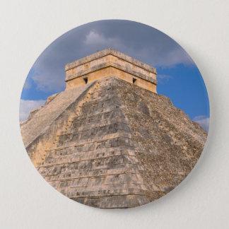 Chichen Itza Ruins in Mexico 4 Inch Round Button