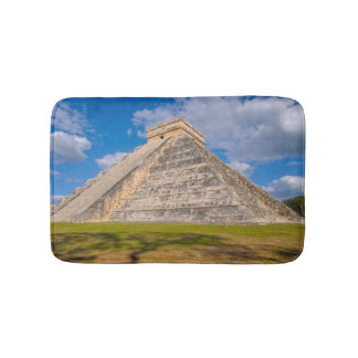 Chichen Itza Ruins in Mexico Bath Mat