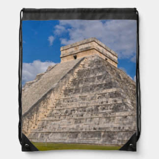 Chichen Itza Ruins in Mexico Drawstring Bag