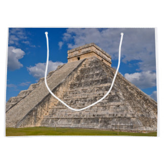 Chichen Itza Ruins in Mexico Large Gift Bag