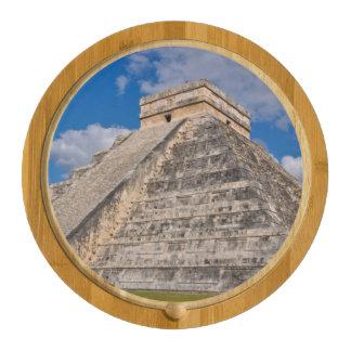 Chichen Itza Ruins in Mexico Rectangular Cheese Board