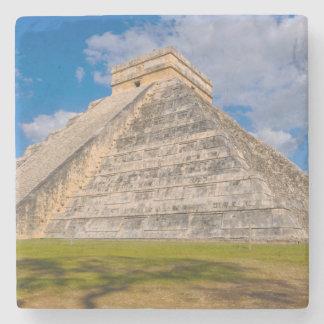 Chichen Itza Ruins in Mexico Stone Coaster