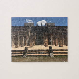 Chichen Itza Temple of the Warrior#2 Jigsaw Puzzle