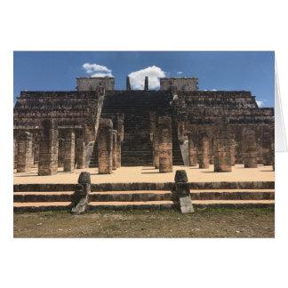 Chichen Itza Temple of the Warriors #2 Card