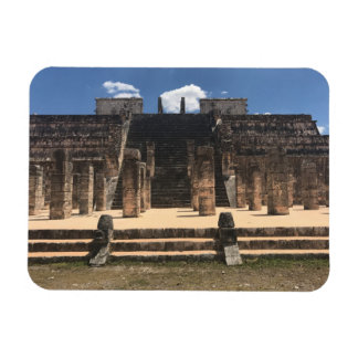 Chichen Itza Temple of the Warriors#2 Photo Magnet