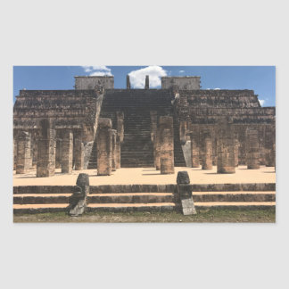 Chichen Itza Temple of the Warriors #2 Stickers