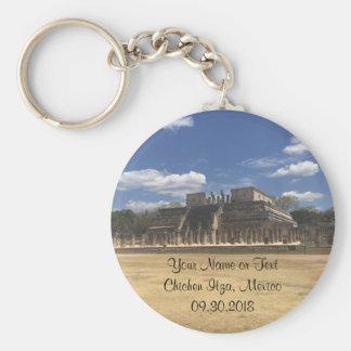 Chichen Itza Temple of the Warriors #4 Keychain