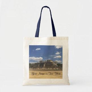 Chichen Itza Temple of the Warriors #4 Tote Bag