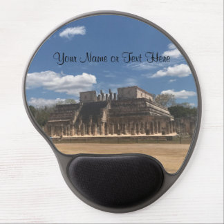 Chichen Itza Temple of the Warriors Gel Mousepad