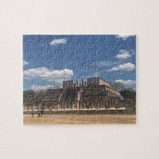 Chichen Itza Temple of the Warriors Jigsaw Puzzle