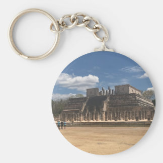 Chichen Itza Temple of the Warriors Keychain