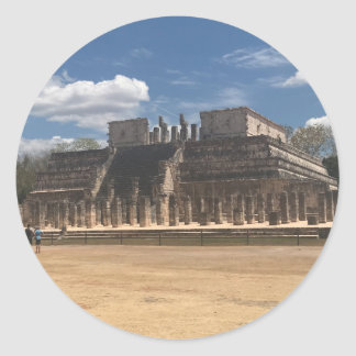 Chichen Itza Temple of the Warriors Stickers