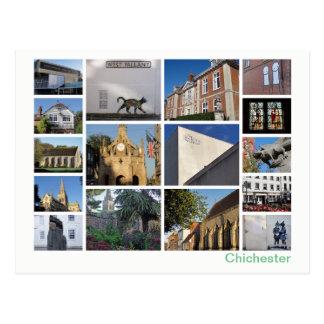 Chichester multi-image postcard