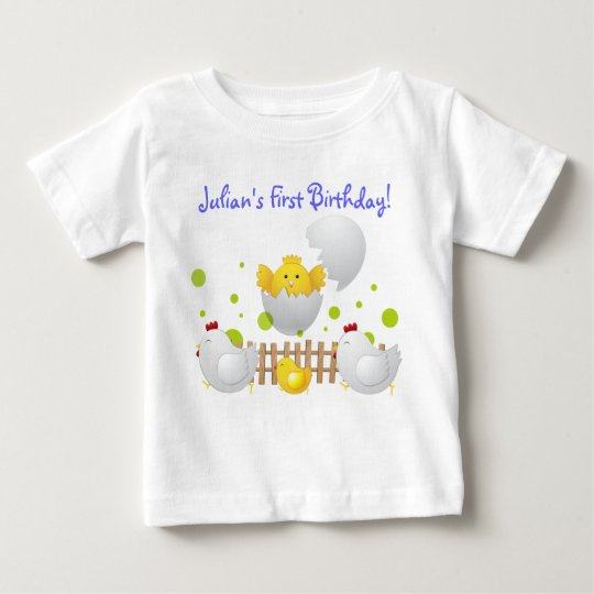 Chick Birthday Baby T Shirts