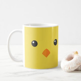 Chick Face Coffee Mug