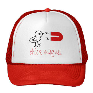 chick magnet mesh hat
