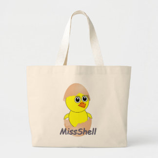 Chick  MissShell Large Tote Bag