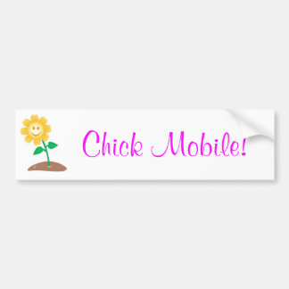 Chick Mobile! Bumper Sticker