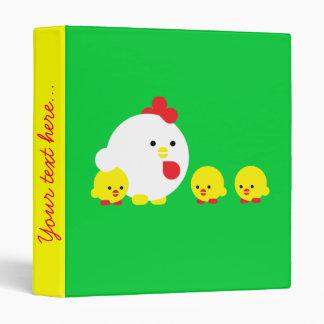 Chick 'n chicks vinyl binders